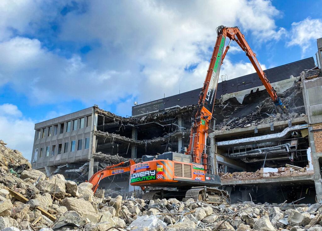 London demolition contractor